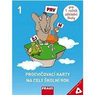 Procvičovací karty na celý školní rok 1 pro děti s SVP - Kniha