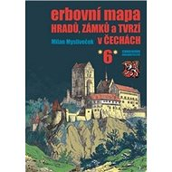 Kniha Erbovní mapa hradů, zámků a tvrzí v Čechách 6 - Kniha