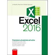 Kniha Microsoft Excel 2016: Podrobná uživatelská příručka - Kniha