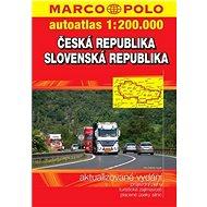 Autoatlas Česká republika Slovenská republika 1:200 000 - Kniha