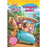Barbie a sestřičky Zachraňte pejsky Zábavný sešit: uvnitř samolepky - Kniha