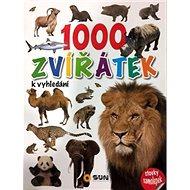 1000 zvířátek k vyhledání: stovky samolepek - Kniha