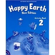 Happy Earth New Edition 2 Activity Book with MultiRom Pack - Kniha