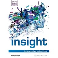 Insight Pre-intermediate Student´s Book - Kniha