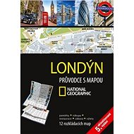 Londýn Průvodce s mapou: 12 rozkládacích map - Kniha