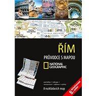 Řím Průvodce s mapou: 12 rozkládacích map - Kniha