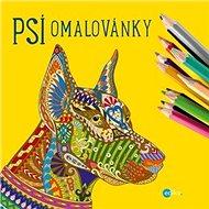 Psí omalovánky - Kniha