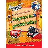 Moje velká kniha aktivit Dopravní prostrědky - Kniha