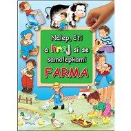 Nalep, čti a hraj si - farma - Kniha