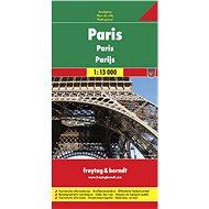Plán města Paříž 1 :13 000 - Kniha