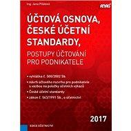 Účtová osnova, České účetní standardy 2017: postupy účtování pro podnikatele - Kniha