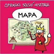 Mapa Opráski sčeskí historje - Kniha