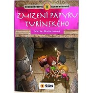 Zmizení papyru turínského: Dobrodružství klubu stopařů - Kniha