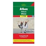 Athény Plán města 1 : 12 000 - Kniha