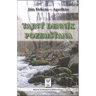 Tajný denník pozemšťana - Kniha