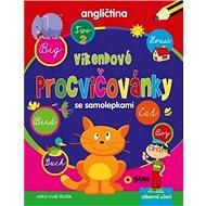 Víkendové procvičovánky Angličtina: se samolepkami - Kniha