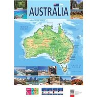 Australia Mapa - Kniha