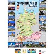 Deutschprachige Länder Mapa - Kniha