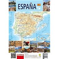 Espaňa Mapa - Kniha