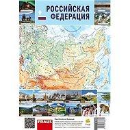 Ruská federace Mapa - Kniha