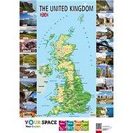 The United Kingdom Mapa - Kniha