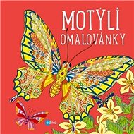 Motýlí omalovánky - Kniha