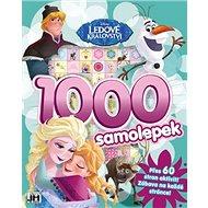 1000 samolepek Ledové království - Kniha