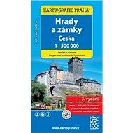 Hrady a zámky Česka 1:500 000: 1:500 000 - Kniha