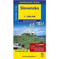 Slovensko 55 Nej 1:500 000: automapa s průvodcem - Kniha