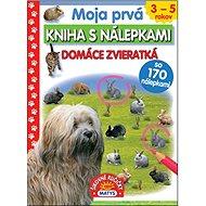 Moja prvá kniha s nálepkami Domáce zvieratká: so 170 nálepkami