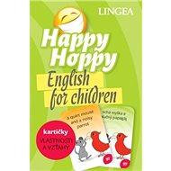 Happy Hoppy kartičky Vlastnosti a vzťahy: English for children - Kniha