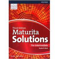 Kniha Maturita Solutions 3rd Edition Pre-Intermediate Student's Book: Czech Edition - Kniha