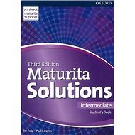 Maturita Solutions 3rd Edition Intermediate Student's Book - Kniha
