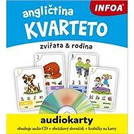 Angličtina kvarteto Audiokarty: zvířata & rodina - Kniha