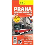Praha městská doprava 1:25T - Kniha