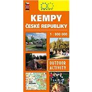 Kempy ČR 1:800 000 - Kniha