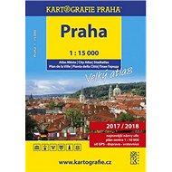 PRAHA velký atlas města 1:15 000 - Kniha