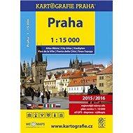 Praha 1:15 000 atlas města - Kniha