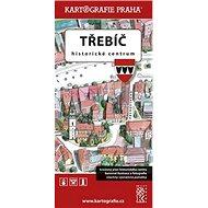 Třebíč Historické centrum: Kreslený plán města - Kniha