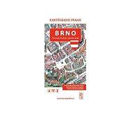 Brno Historické centrum: Kreslený plán města - Kniha