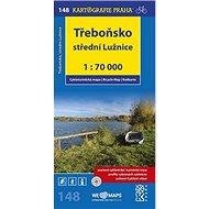 Třeboňsko,střední Lužnice 1:70 000: cyklomapa - Kniha