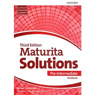 Kniha Maturita Solutions 3rd Edition Pre-Intermediate Workbook Czech Edition - Kniha