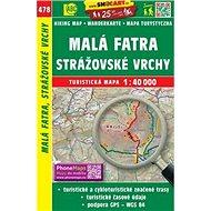 Malá Fatra, Strážovské vrchy 1:40 000: 478 - Kniha