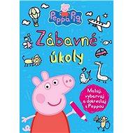 Peppa Pig Zábavné úkoly: Maluj, vybarvuj a dokresluj s Peppou - Kniha