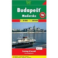 Budapešť + Maďarsko 1:20 000/1:500 000: automapa + plán - Kniha