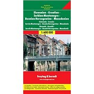 Automapa Slovinsko, Chorvatsko, Srbsko 1:600 000 - Kniha