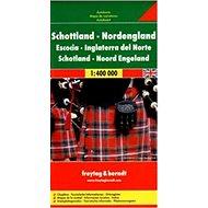 Skotsko, severní Anglie 1:400 000