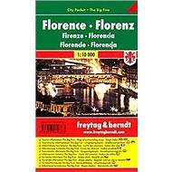 Florencie 1:10 000: Kapesní plnán města - Kniha
