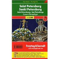Petrohrad 1:12 500: Kapesní plán města - Kniha