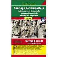 Santiago de Compostela 1:10 000: Kapesní plán města - Kniha